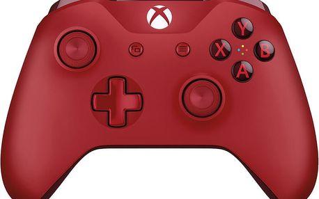 Xbox ONE S Bezdrátový ovladač, červený (PC, Xbox ONE) - WL3-00028