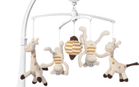 BABY ONO Kolotoč hudební – Žirafa a Opice