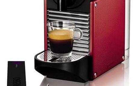 Espresso DeLonghi Nespresso Pixie EN125R černé/červené + Doprava zdarma