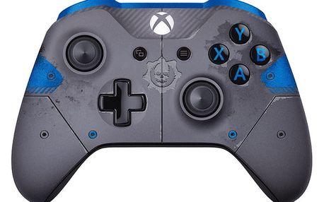 Xbox ONE S Bezdrátový ovladač, Gears of War, šedý (PC, Xbox ONE) - WL3-00008