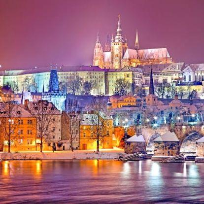 Praha v hotelu Bohemians na břehu Vltavy