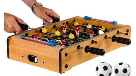 OEM M30637 Mini stolní fotbal fotbálek pro 2 osoby 51 x 31 x 8 cm