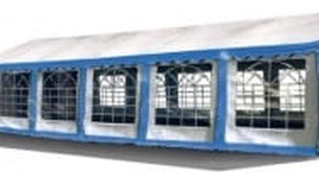 Party stan Premium 8 x 12 m   modro-bílá