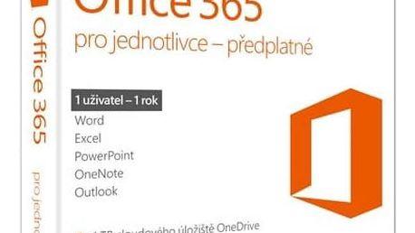 Software Microsoft Office 365 pro jednotlivce CZ (QQ2-00602) + Doprava zdarma