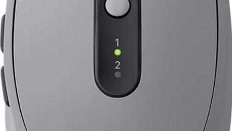 Logitech M590 Silent, šedá - 910-005198