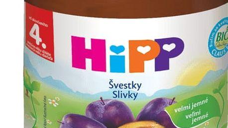6x HIPP BIO švestkový (125 g) - ovocný příkrm