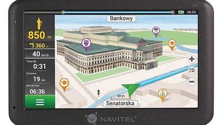 Navigační systém GPS Navitel F150 (C2047025) černá