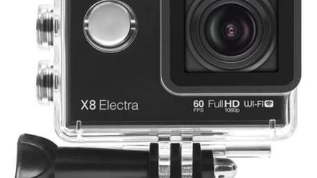 Outdoorová kamera Lamax Action X8 Electra černá + dárek