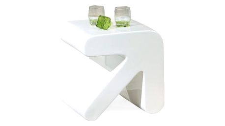 Erati - Konferenční stolek (bílá)