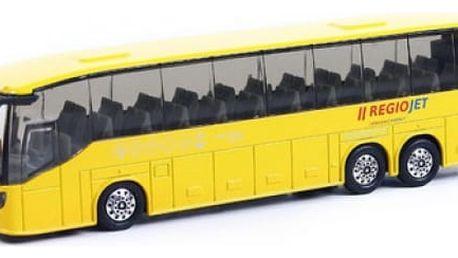 Žlutý autobus RegioJet 18,5 cm