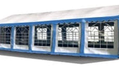 Párty stan Ohnivzdorný Premium 6 x 12 m | modro-bílá