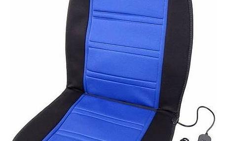 Compass Vyhřívaný potah sedadla 12V Modrý