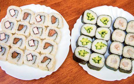Lahodné sushi s sebou: 32 kousků na doma