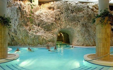 Miskolc s polopenzí a jeskynními lázněmi