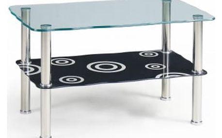 Halia - Konferenční stolek (černá)