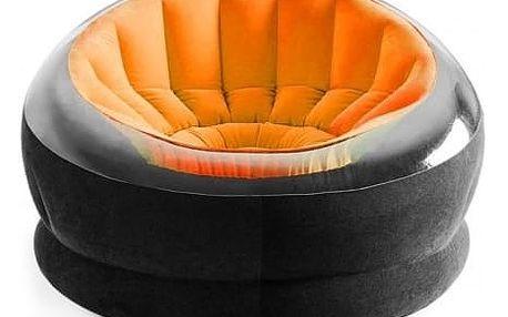 INTEX Nafukovací křeslo Empire, oranžová 68582