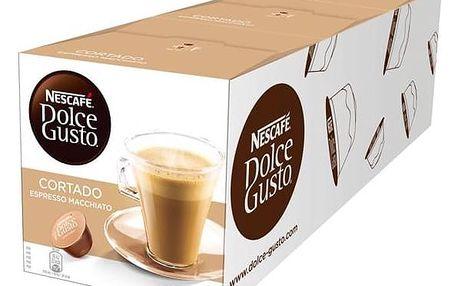 Kapsle pro espressa Nescafé Dolce Gusto Cortado 3 balení