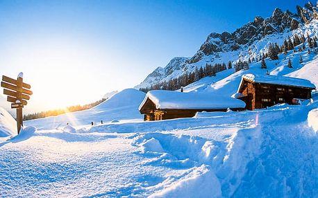 Rakouské Alpy se snídaní a slevovou kartou