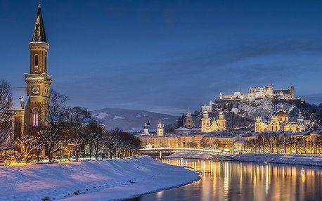 Výlet do Salzburgu v době adventu vč. průvodce