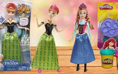 Hračky pro malé princezny s motivy Frozen či Ariel