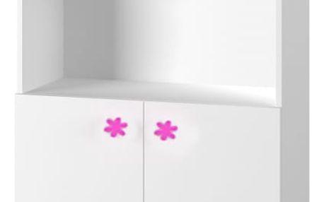Simba 11(korpus bílá/front bílá a růžový motýlek)