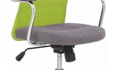 Andy - dětská židle (zeleno-šedá)
