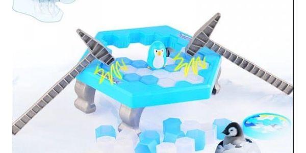 Společenská hra Zachraň tučňáka!