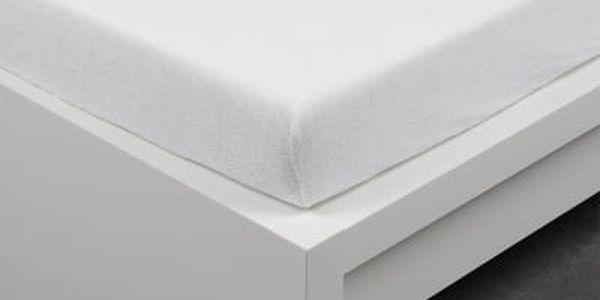 XPOSE ® Froté prostěradlo Exclusive dvoulůžko - bílá 200x220 cm