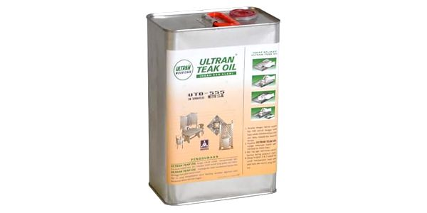 Garthen 2143 Pečující týkový olej na dřevo - 0,8 l