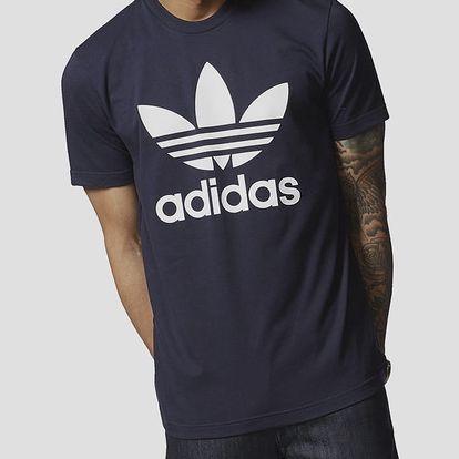 Tričko adidas Originals ORIG TREFOIL T Modrá