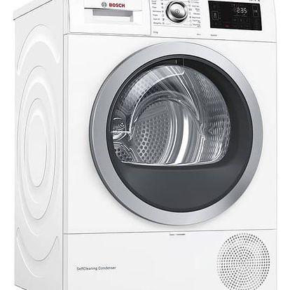 Sušička prádla Bosch WTWH761BY bílá + Doprava zdarma