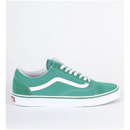 Boty Vans Ua Old Skool (Suede/Canvas) Zelená