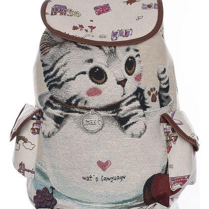 Fashion Icon Dámský batoh Sweety cats s kočkou