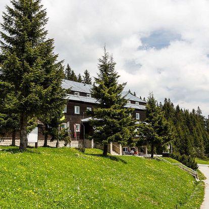 Ráj v hotelu Granit Smrekovica *** na hřebenech Velké Fatry