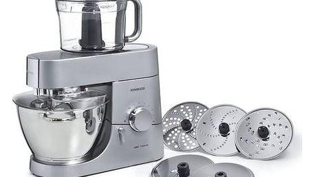 Kuchyňský robot Kenwood Chef Titanium KMC053 megapack (vrácené zboží 5800132458) + Doprava zdarma