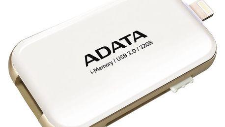 ADATA UE710 - 32GB, bílá - AUE710-32G-CWH