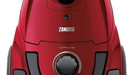 Vysavač podlahový Zanussi CompactGo ZANCG23WR červený + Doprava zdarma