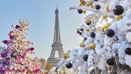 Adventní Paříž s možností výletu do Disneylandu