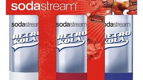 Příslušenství k výrobníkům sody SodaStream TriPack RETRO KOLA