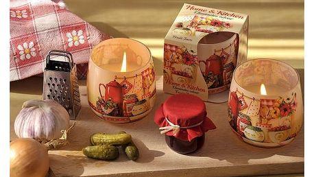 Designové aromatické svíčky ve skle - VÝPRODEJ