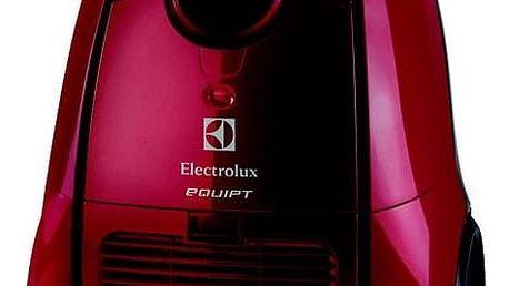Vysavač podlahový Electrolux Equipt EEQ21 červený + Doprava zdarma