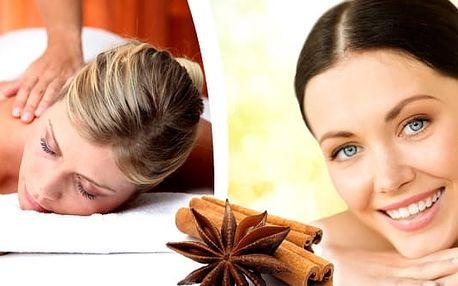 80 minutová skořicová masáž celého těla s prohřátím zad Vás spolehlivě rozehřeje i těch největších mrazech. Vůně skořice a skořicová masáž je neodmyslitelně spjata s chladnějšími dny v roce. Přijďte a nebudete už chtít jinak.