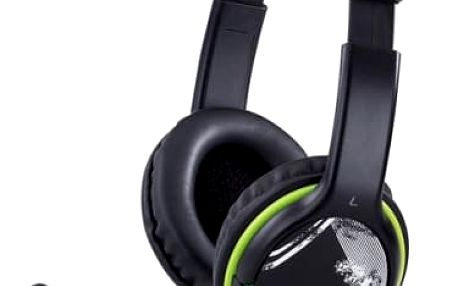 Headset Genius HS-400A (31710169100) černý/zelený