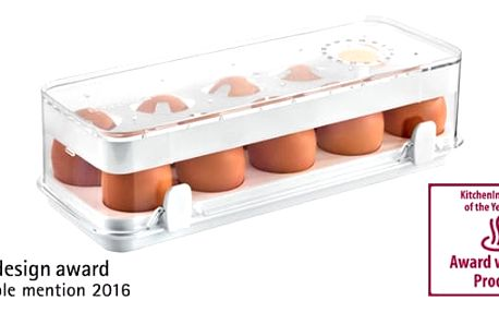 TESCOMA zdravá dóza do ledničky PURITY 28 x 11 cm, 10 vajec