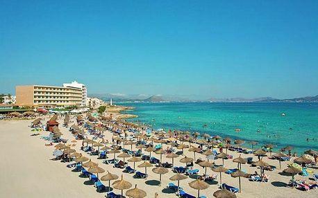 Španělsko, Mallorca, letecky na 8 dní se snídaní