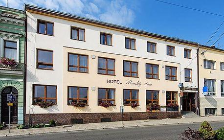 3–5denní pobyt pro 2 s polopenzí a možností vířivky v hotelu Panský dům Blovice u Plzně