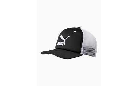 Kšiltovka Puma ARCHIVE trucker cap Černá