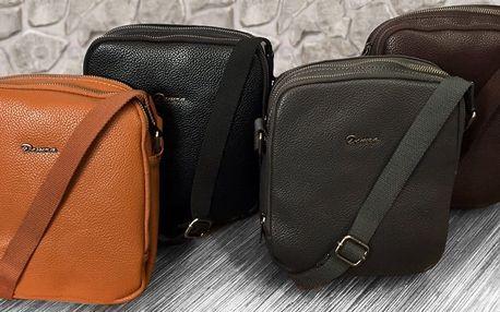Pánské tašky z ekokůže ve čtyřech barvách