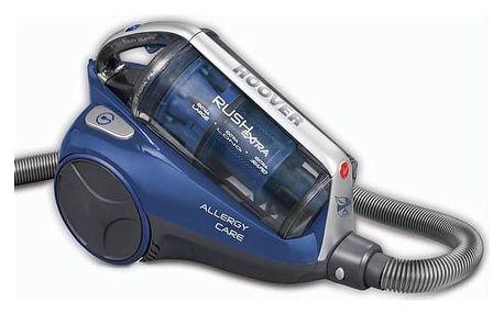 Vysavač podlahový Hoover RUSH EXTRA RE71_RE20011 modrý + Doprava zdarma