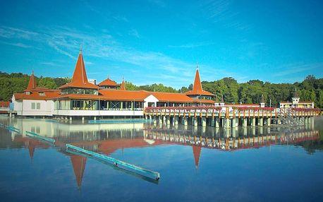 Odpočinek u léčivého jezera Hévíz: s polopenzí, neomezeným wellness a slevou na masáže
